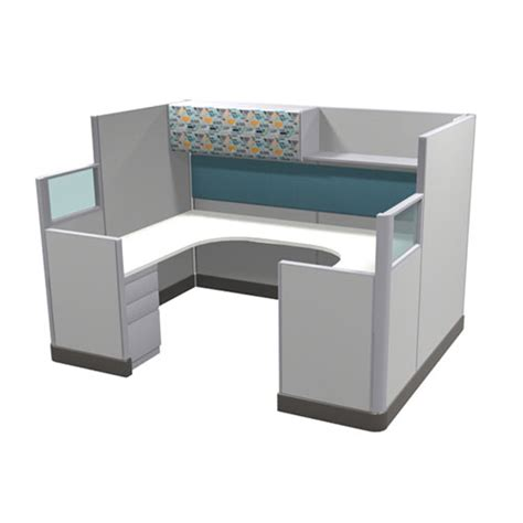 ekos 6x8 quot u quot station 67h kentwood office furniture new