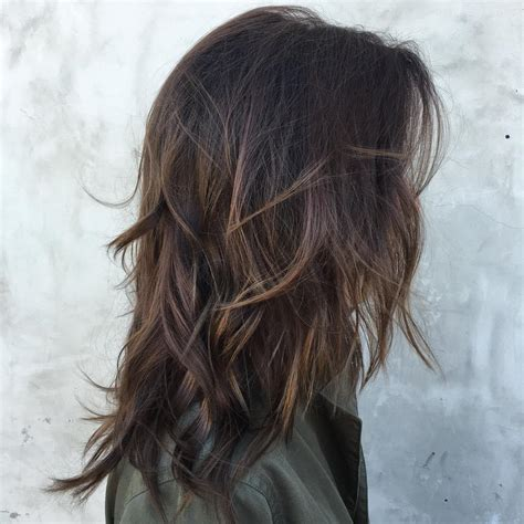 hairlights for black hair and layered for ladies over 50 60 chocolate brown hair color ideas for brunettes