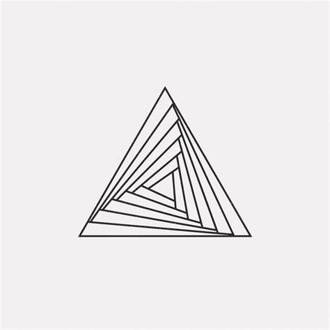 geometric layout pinterest piramidal pinteres