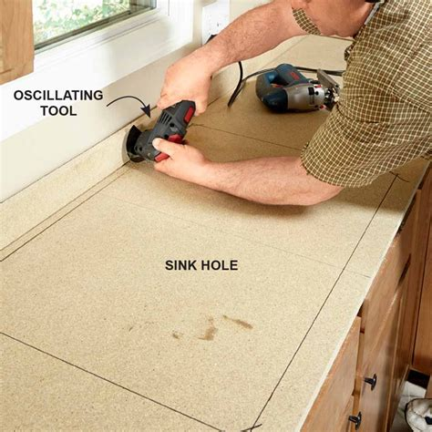 Cut Formica Countertop Without Chipping by Installing Laminate Countertops Laminate