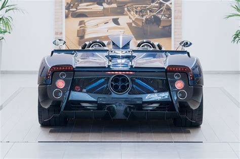pagani back another last ever pagani zonda the hp barchetta by car