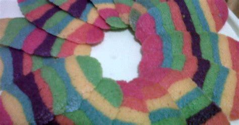 Rainbow Lidah Kucing resep kue lebaran resep lidah kucing rainbow