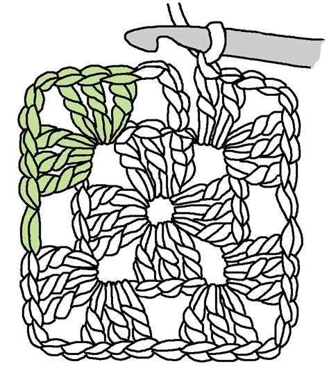 crochet pattern drawing tuesday tute the humble granny square and crochet