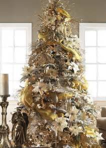 Christmas Trees Decorated With Mesh Netting » Home Design 2017