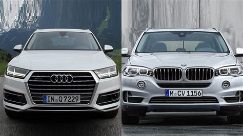Bmw X5 Vs Audi Q7 by 2017 Audi Q7 Vs 2016 Bmw X5