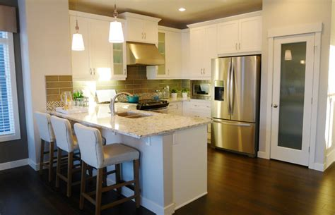 21 outstanding u shaped kitchen with island floor plans nod to past given in heritage hills
