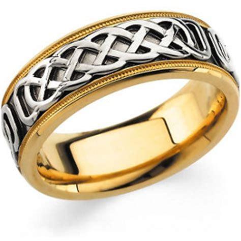 Celtic TT Gold wedding band 50387