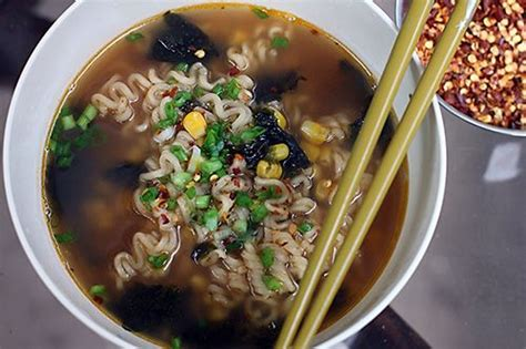 Shelf Of Ramen by Not Your Average Ramen Recipe Sauces Cooking And