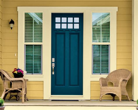 blue front door colors beautiful paint colors for front doors
