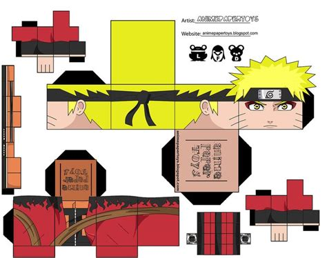 How To Make Cool Paper Toys - image detail for cool anime papercraft chi anime
