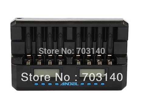 Battery Charger 8 Slot For Aa Aaa Nicd Nimh C808w 8 bay 8 slot smart aa aaa nimh nicd rechargeable battery lcd fast charger with discharger