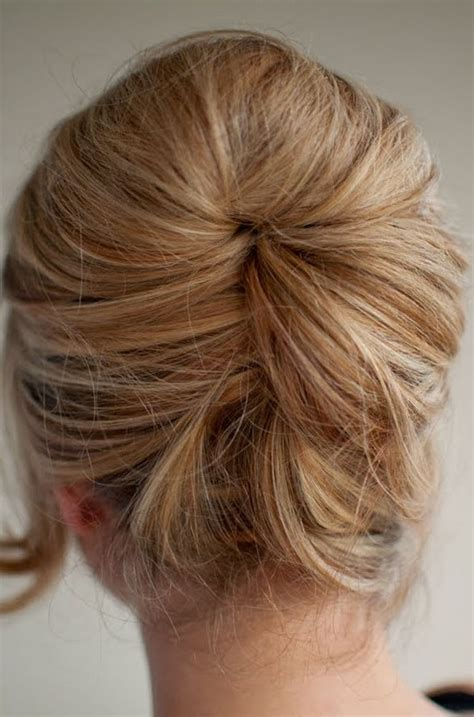 updo hairstyles relaxed hair back view of bouffant hairstyle back view of bouffant