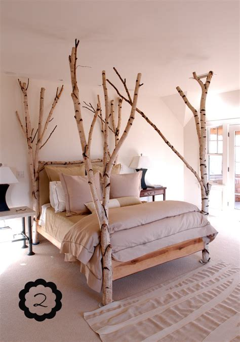 bed post tumblr make bed posts out of tree branches