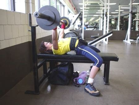 power lift bench press the bench press