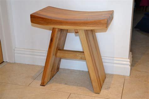 teak wood stool design comfortable teak wood bath stool design ideas