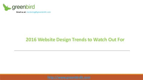 16 web design trends to watch out for in 2017 visual 2016 website design trends to watch out for