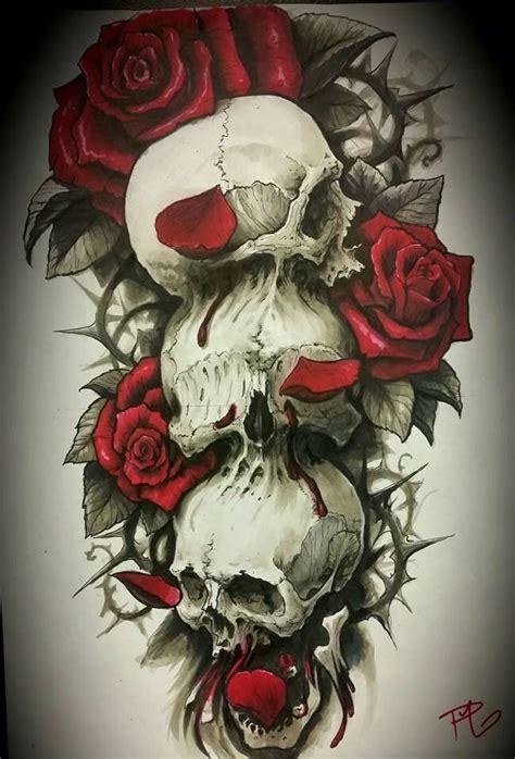 hear no evil skull tattoo designs design hear no evil see no evil speak no evil