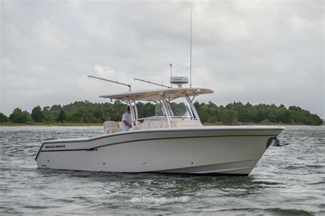 grady white type boats 2013 used grady white canyon 336 saltwater fishing boat