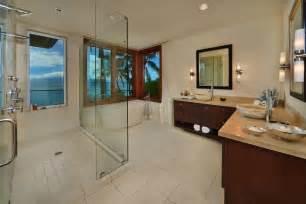 L Shaped Bath Shower jewel of kahana house beachside in maui hawaii