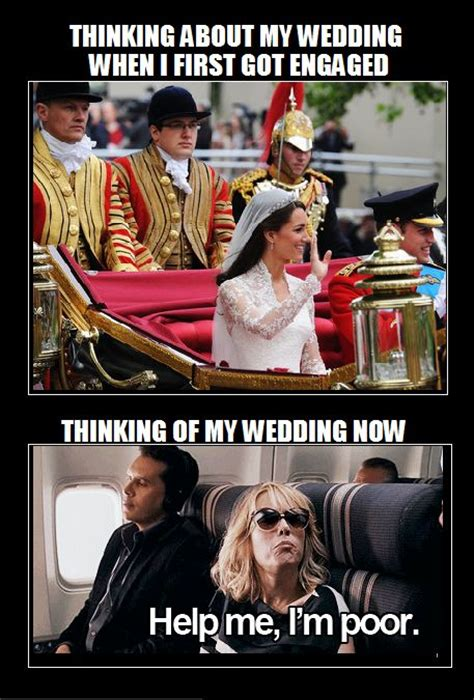 Meme Bridal - wedding meme broke wedding planning pinterest
