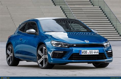 volkswagen scirocco r ausmotive com 187 volkswagen gives new scirocco r more power