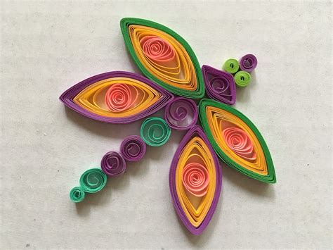 Paper Quilling - kraftship easy paper quilling for beginners the rainbow