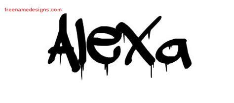 graffiti  tattoo designs alexa  lettering
