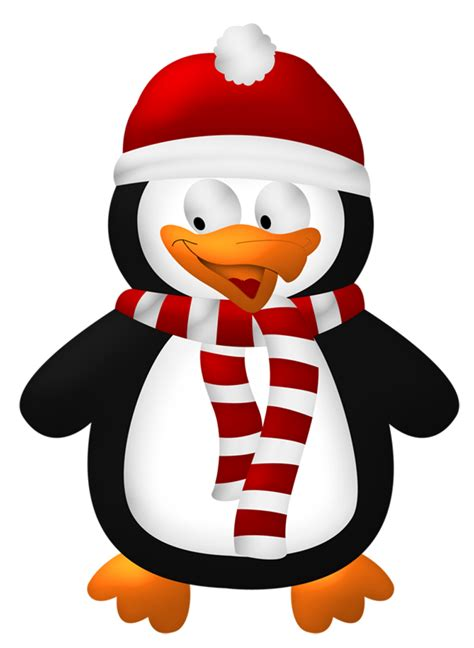 christmas penguins clipart google search christmas