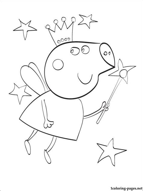 peppa pig swimming coloring page coloring peppa pages pig swimming coloring pages