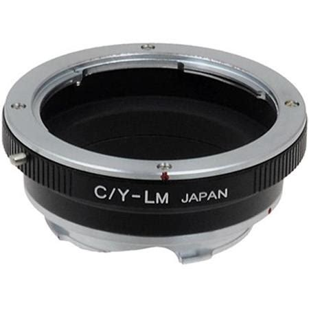 fotodiox mount adapter for contax/yashica c/y lens to