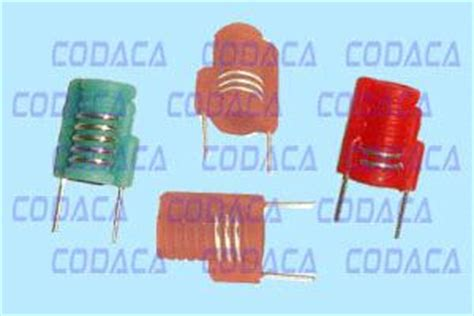tunable inductor coil forms tunable coils variable inductor molded coils air adjustable inductor rf inductor