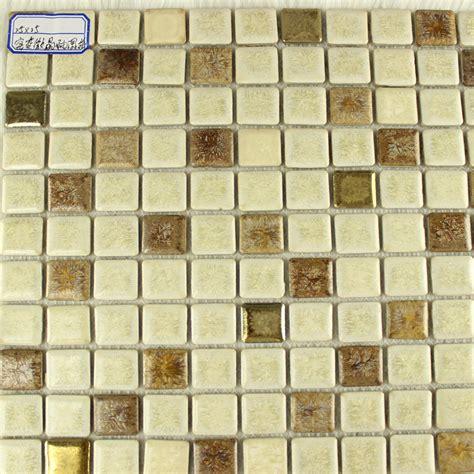 ceramic mosaic tile backsplash glazed porcelain square mosaic tiles design beige ceramic tile walls kitchen backsplash 10032