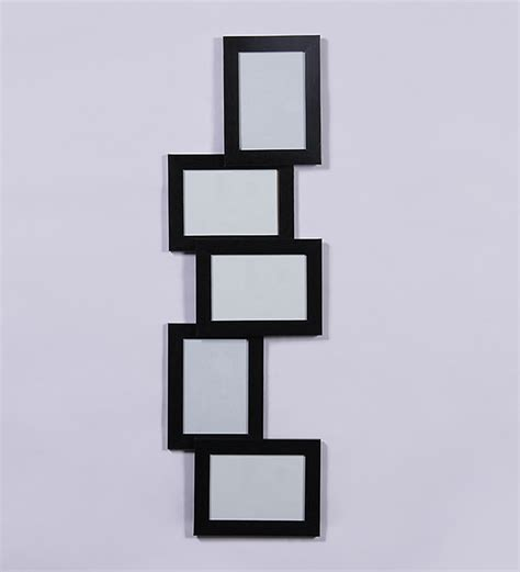 collage sets page2 novel black 5 tier collage picture frame by novel