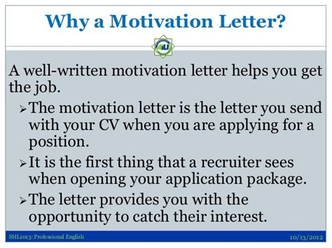 Letter Of Motivation Proofread persuasive writing skills for application letters