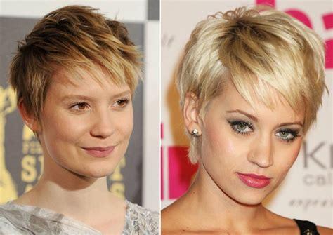 show the back of some modern womens medium length haircuts pixie haircut long bangs medium hair styles ideas 4235