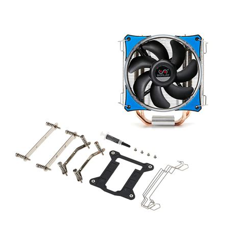 Fan Cfd Series 12cm Green Led best soplay cpu cooler 4 heatpipes 4pin 12cm green led fan pc blue sale shopping cafago