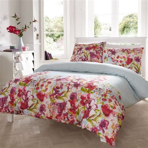 catherine lansfield meadow floral duvet cover