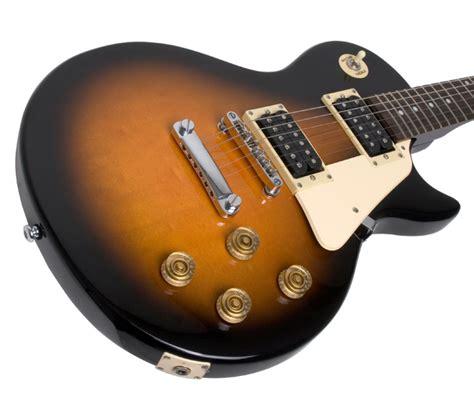 Gitar Elektrik Epiphone Les Paul Sunbrust epiphone les paul 100 electric guitar vintage sunburst at