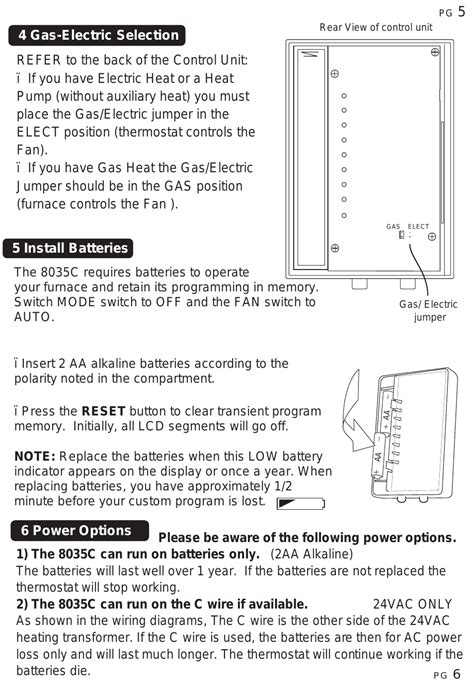 rite temp thermostat wiring diagrams 30 rv wiring
