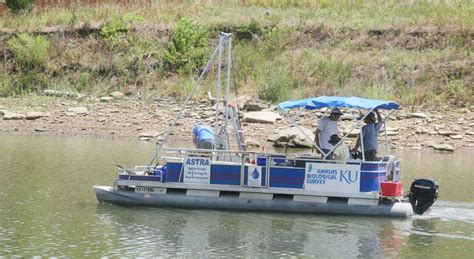 used pontoon boats kansas sediment s a growing problem in kansas lake and reservoirs