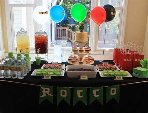 Backyard Birthday Party Ideas lego ninjago ninja birthday quot rocco s ninjago birthday