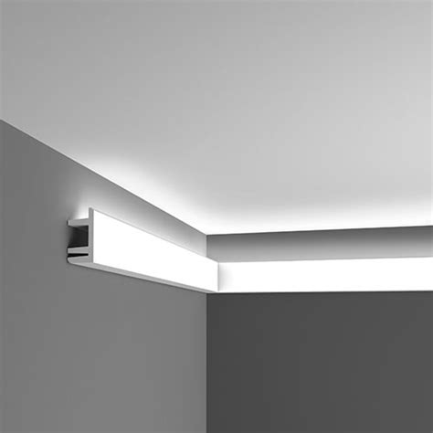 cornice led c 381 linear led lighting cornice modern range house