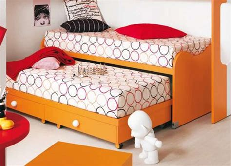 Childrens Pull Out by Nuvola Children S Bed With Pull Out Spare Bed Two Beds