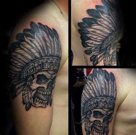 tattoo designs for indian men 80 indian skull designs for cool ink ideas