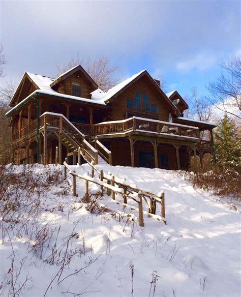 Catskill Mountain Cabins by Catskill Lakefront Log Cabin Sleeps 14 5 Vrbo