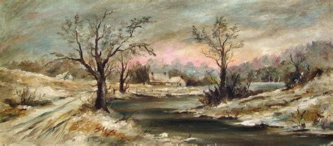 impressionist landscape painting 1910 impressionist winter landscape painting omero home