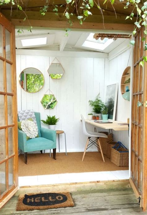 she shed interiors 35 fabulous she shed ideas comfydwelling com