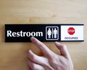 occupied bathroom sign bathroom occupied signs