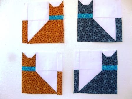 Patchwork Cat Quilt Block Patterns - patchwork cat quilt block variations ludlow quilt and sew