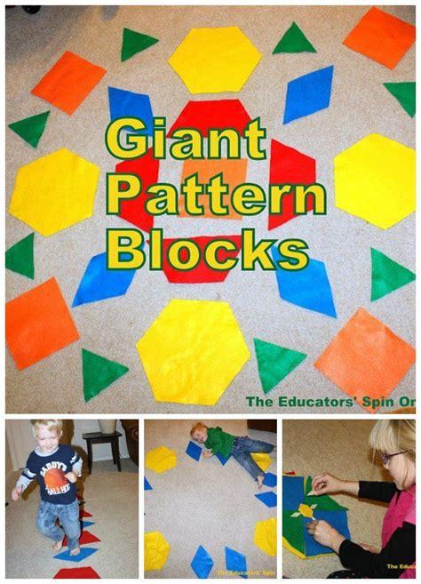 pattern blocks in kindergarten 36 best patterns pattern blocks images on pinterest
